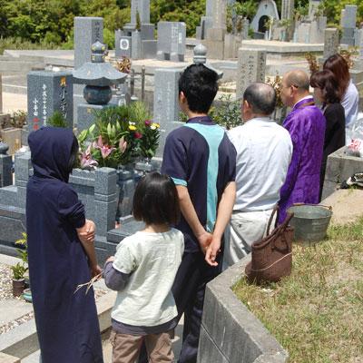 墓石引渡し写真
