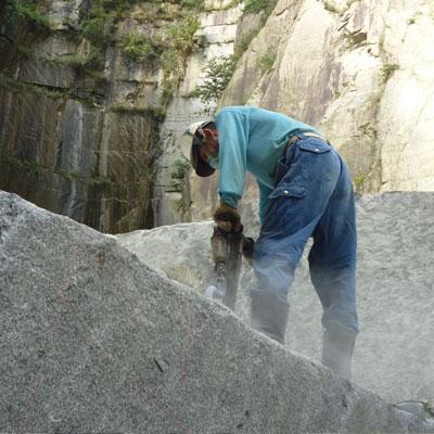 大島石採石場